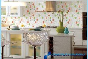 Alternativer for kjøkken tapet med bilder