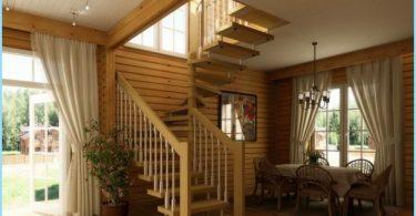 Hvordan lage en spiral trapp til andre etasje, loft