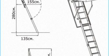 Installere loftet trapper med video