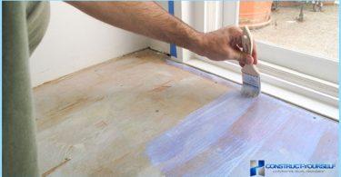 Hvordan og hva du skal male gulvet