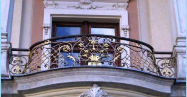Smidde balkonger