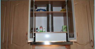 Hvordan installere panseret på kjøkkenet selv