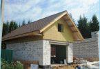 Hvordan bygge en garasje av skum blokker
