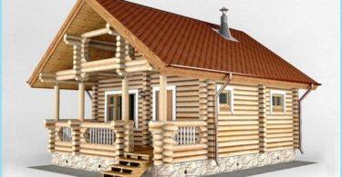 Prosjekter med bad og terrasse hus