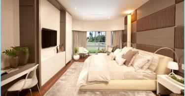 interiør soverom i moderne stil