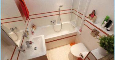 Design en liten firkant med badekar 3 bilder