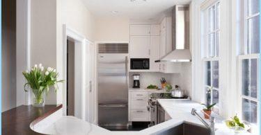 lite kjøkken interiør