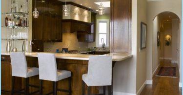 Kjøkken med frokost bar: Moderne design