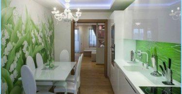Photo veggen på kjøkkenet, utvide plass