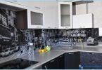 Glass forkle til kjøkkenet med bilder