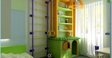 Sports-området i barnerommet