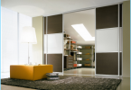 Speil skyvedør for walk-in garderobe