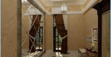 Speilet i interiør gangen